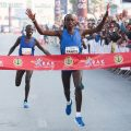 Fancy Chemutai sets new RAK Half Marathon record