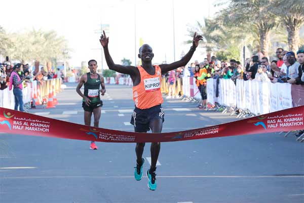 Records at Ras Al Khaimah Half Marathon  2019