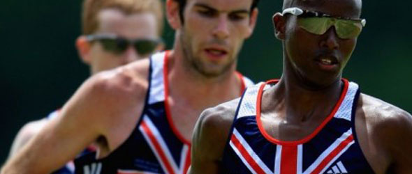 Mo Farah heads UK Team to Euro 2012