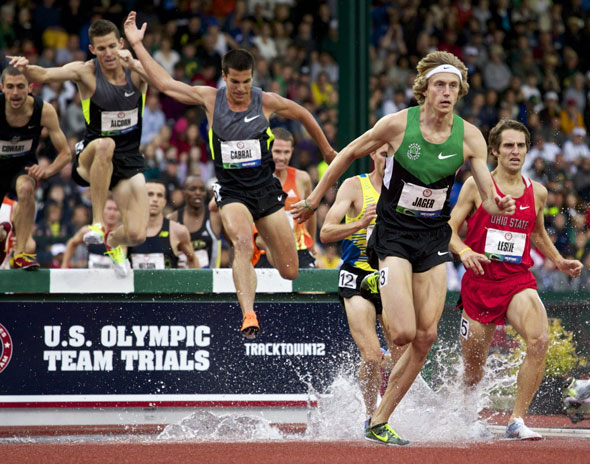 Evan Jager wins US 3000m SteepleChase title