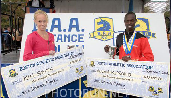 Kiprono, Smith Win B.A.A. Distance Medley Grand Prix