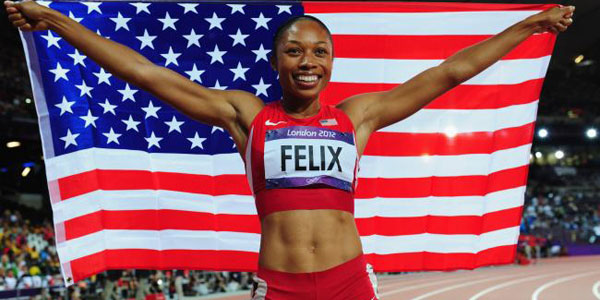 Allyson Felix - IAAF Athlete of the Year