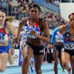 Perri Shakes-Drayton for Athletics Series 2013