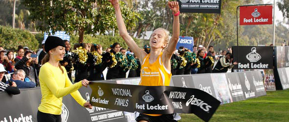 Anna Rohrer wins Footlocker Final