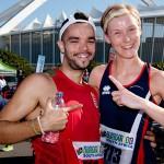 Gergo and Orla conquer 5km