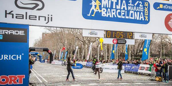 Barca World Record for Kiplagat