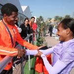 Women set records in Dubai Marathon