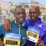 Komon targets world leading time