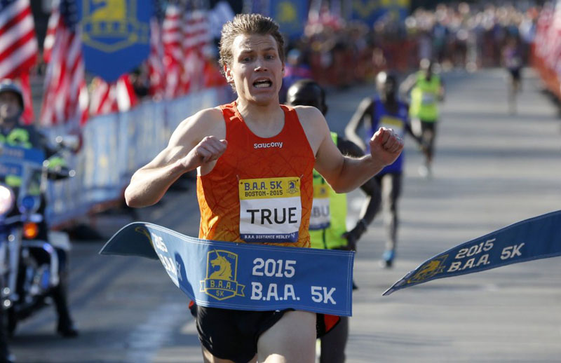 ben true - US 5K road record