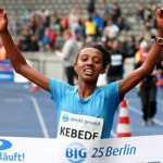 Kebede sets Ethiopian 25k record in Berlin