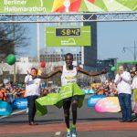 Erick Kiptanui wins Berlin Half Marathon 2018
