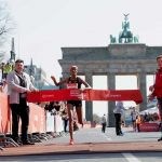 Sifan Hassan course record at Berlin Half