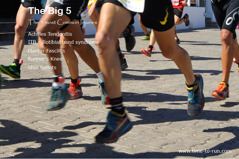 The Big 5 - the most common running injuries
