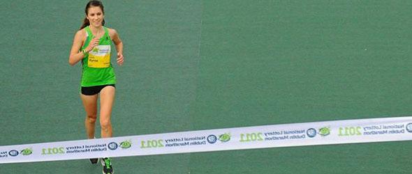 Linda Byrne wins Dublin Marathon
