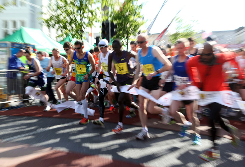 Cork City Marathon Start 2012