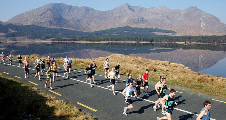 connemara marathon route