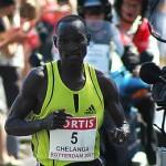 Marathoner Chelanga Succeeds
