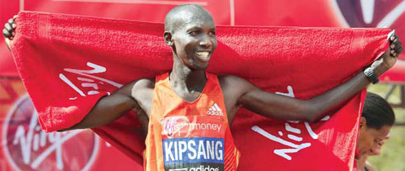 Wilson Kipsang leads Kenyan Marathon team to London