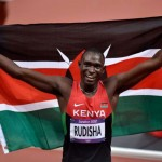 Rudisha wins 800m Gold in WR