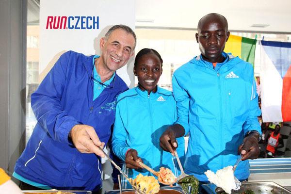 Joyce Chepkirui cooking Ugali