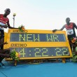 Kenya set 1500m Relay Record