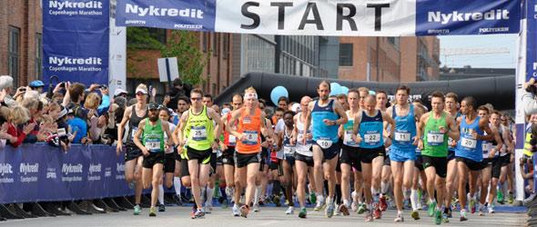 Copenhagen Marathon 2011 start