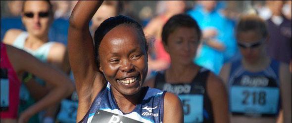 Tegla Loroupe for Copenhagen Marathon