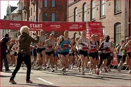 Copenhagen Marathon 2007 Start