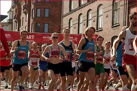 Copenhagen Marathon 2007 Women Start