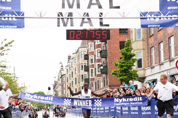 Mutai wins Copenhagen 2014