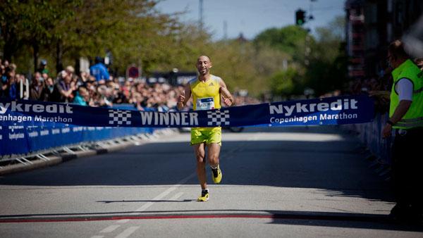 Hassane Ahouchar - Copenhagen Marathon