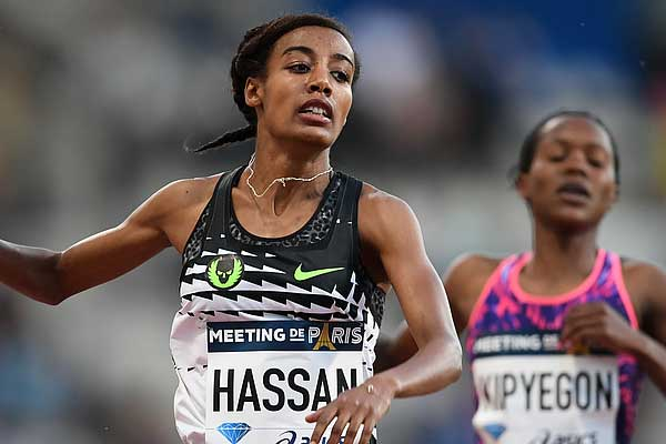 Sifan Hassan for Copenhagen Half