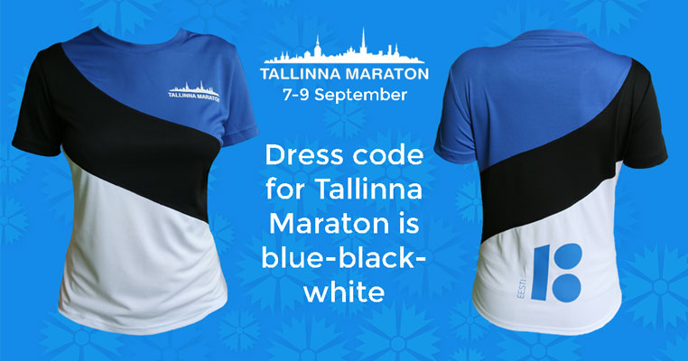 tallinn marathon - colours