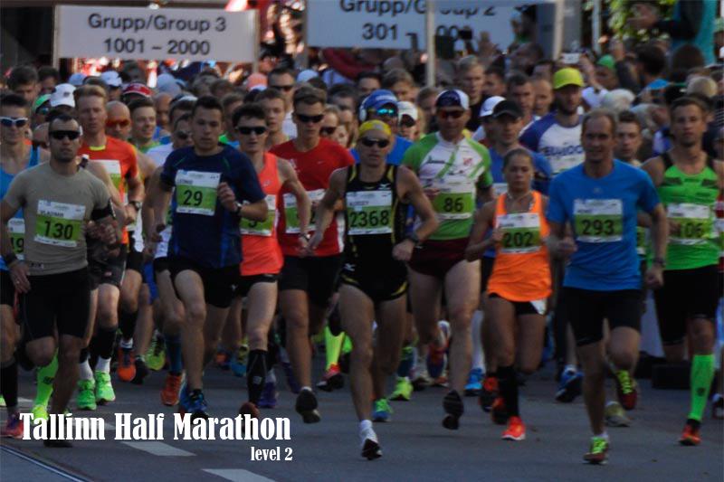 Level 2 Tallinn half marathon training