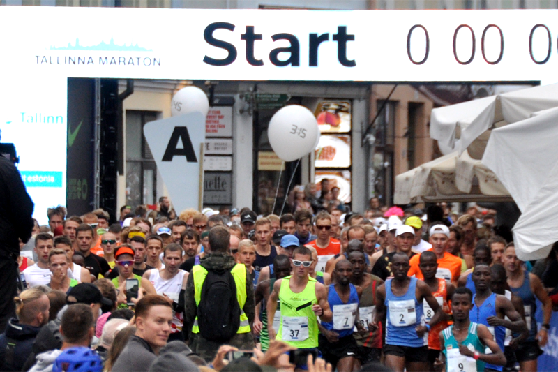 Tallinna Marathon set Race records
