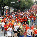 Tel Aviv Marathon 2012 downtown