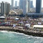 Tel Aviv Marathon 2012 coastline setting