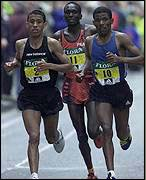 London Marathon Men 2002