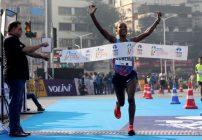 Amane Gobena - Mumbai Marathon 2018