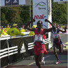 The Berlin Marathon 2003