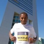 Kenenisa Bekele for Dubai Marathon