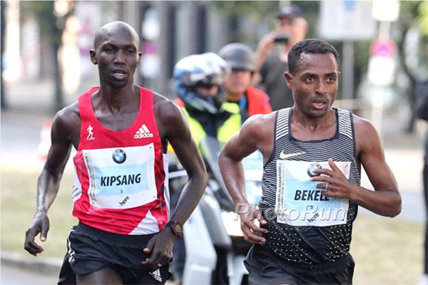 bekele - kipsang - berlin marathon