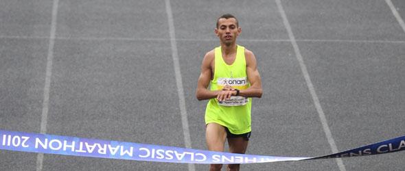 Boubker wins Athens 2011