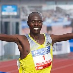 Chebet sets record in Amsterdam