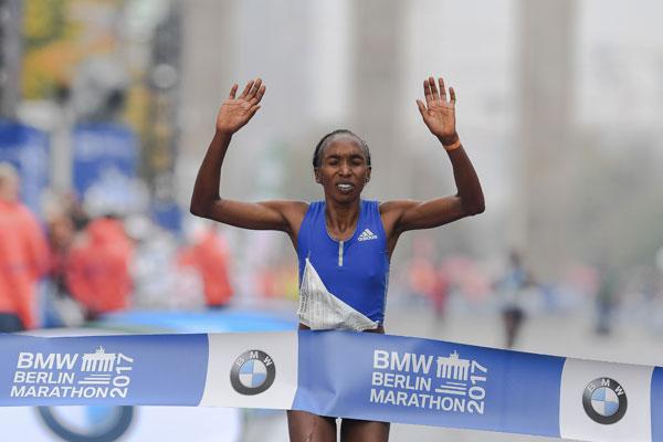 Gladys Cherono - berlin marathon 2017