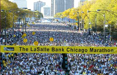 Chicago Marathon 2011