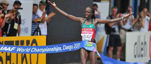 Kiplagat takes Gold in Daegu