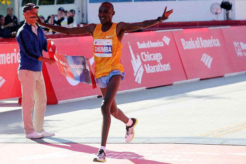 Dickson Chumba - Chicago Marathon