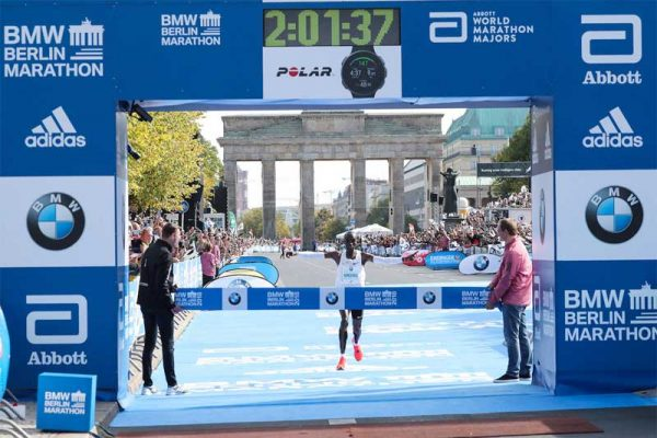 Eluid Kipchoge World Record Berlin 2012