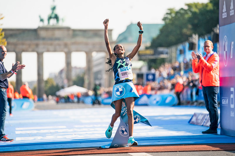 Guye Adola, unexpected triumph in Berlin-Marathon